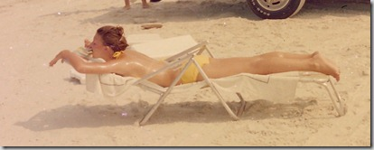NOT my Ex-! Girl on the beach in Jax, Fla. 1975?