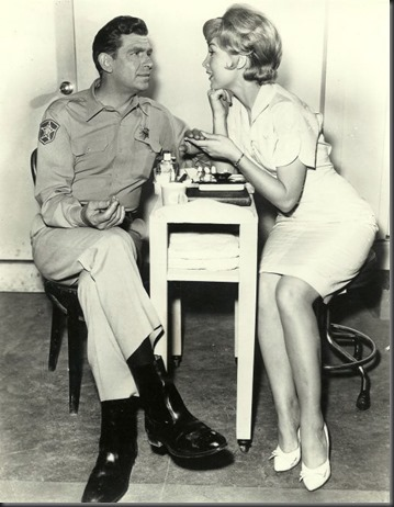 Andy Griffiths & Barbara Eden