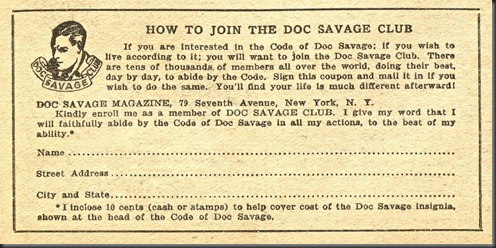 Doc Savage Club