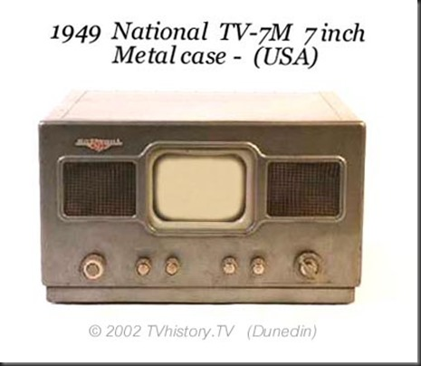 1949-National-TV7M. My 7 inch Nexus does more!