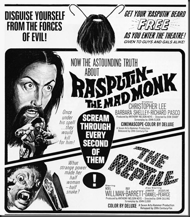 Free Rasputin Beard With Admission!