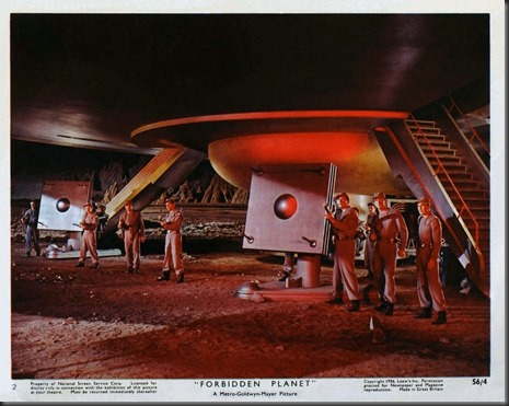 Poster - Forbidden Planet