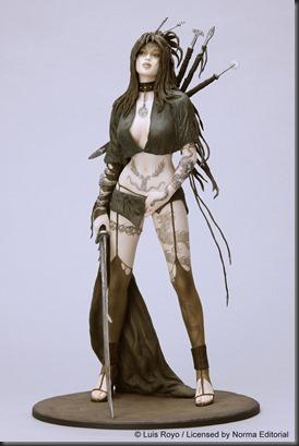 Figurines like this.