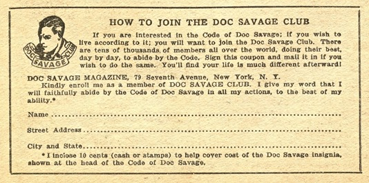 Doc Savage Club