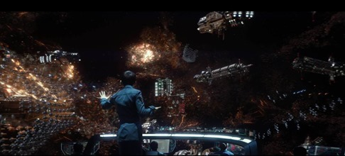 Ender's Game. Movie was okay but I WANT THAT BATTLE ROOM!