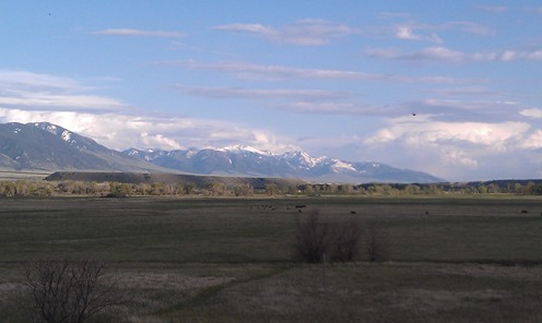 The View From The Ennis RV Park, Ennis, Mt