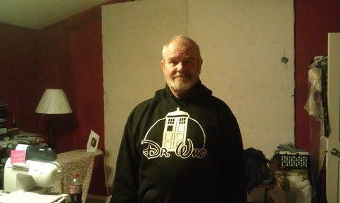 The Doctor Who Hoodie SWMBO Got Me!