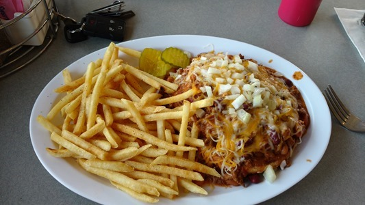 That GREAT Chiliburger I had at Sisters Restaurant last Saturday