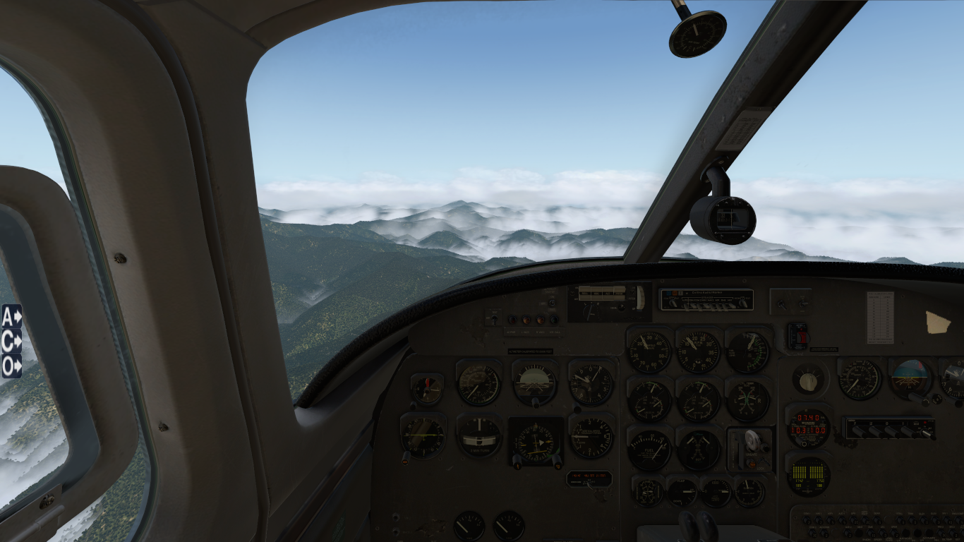 500s Shrike in          X-Plane